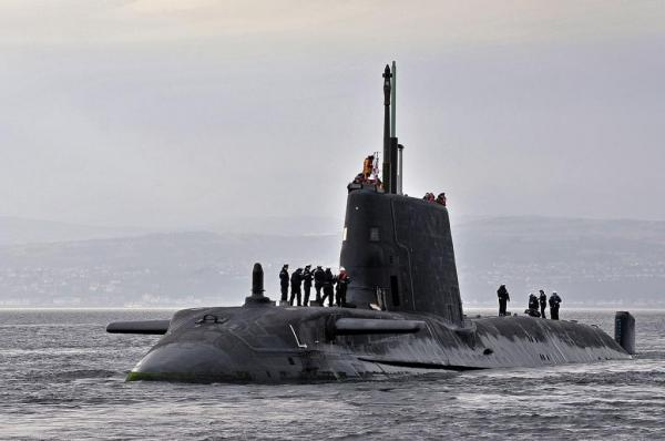 UK submarine completes upgrade, training period